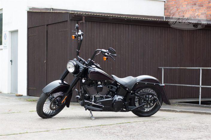 Gearhead Repair Harley Davidson Performance Bildergalerie Purple Softail Slim