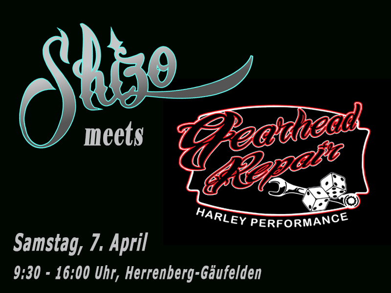 Gearhead_Repair_Harley_Davidson_Motorradwerkstatt_Werkstatt_Herrenberg_Gäufekden_mit_Shizo_Pinstriping